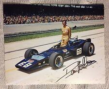 David Hobbs Signed Indianapolis Indy 500 Legend 8X 10 Autographed 1971 Penske