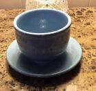 Fiestaware Homer Laughlin Periwinkle Blue Large Chili Bowl Plate Fiesta USA