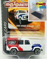 Majorette Land Rover Defender 110 Racing Diecast Car 1/60 266B Free Display Box