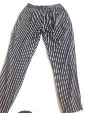 Size S Stripe Black White Casual/active Wear