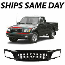 NEW Black - Plastic Front Grille Grill For 2001-2004 Toyota Tacoma Pickup Truck