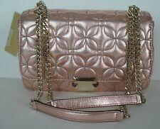 NWT MICHAEL KORS Sloan LARGE Chain Shoulder Bag in LT Rose Leather