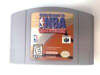 **Kobe Bryant NBA Courtside Nintendo 64 N64 Game Tested + Working & Authentic!