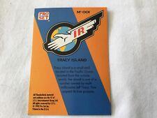 Thunderbirds Pro Set - Card #001, Tracy Island - Pro Set Inc 1992
