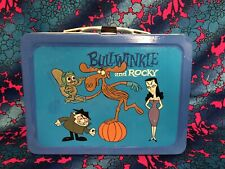 Rocky & Bullwinkle Metal Lunchbox Lunch Box 1962 No Thermos