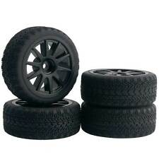 RC 1:10 On-Road Car Plastic Wheel Rim Rubber Tire Sponge For HSP HPI 910-8006