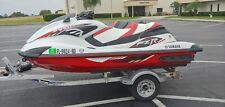 Pair of 2016 Yamaha Wave runners  1st FZR SVHO 2nd VXR Low Hours Clean w/trailer