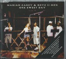 MARIAH CAREY & BOYZ II MEN - ONE SWEET DAY 1995 UK 4 TRACK CD SINGLE PART 2