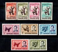 Togo 1964 Mi. 426-434 Postfrisch 100% Addis-Abeba, Präsident