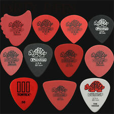 22 x Dunlop Tortex 0.50mm Guitar Picks Variety - Red, Fins, Triangle, Wedge etc.