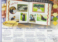 Creative Memories Cottage Grove Printed Paper Pack NLA