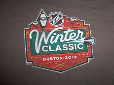 NHL Winter Classic Hockey Boston Massachusetts 2010 Grey gray bruins Shirt XXL