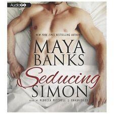 Seducing Simon by Maya Banks (2013, CD)