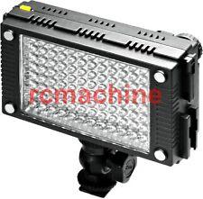 Genuine F&V HDV-Z96 96 LED Light For Canon EOS 5D II 7D 550D DV DSLR Rig arm