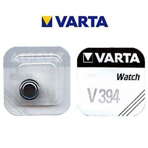 2 Stück VARTA V394 Knopfzelle Batterie SR45 SR936SW  Uhrenbatterie  SR936  D394