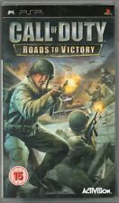 CALL OF DUTY: Roads to Victory (15) 2007  Activision  Sony PSP Game