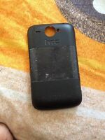 Htc Wildfire Battery Cover Black Genuine