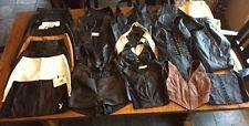 Wilsons Leather Lot Of 26 Jacket / Vest / Skirt Leather Clothing Lot Bra Resale
