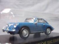 Kyosho Porsche 356C Coupe 1/64 Scale Box Mini Toy Car Display CA3493