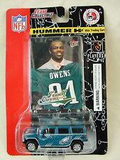 2004 FLEET NFL Die Cast Hummer H2, Philadelphia Eagles, Terrell Owens