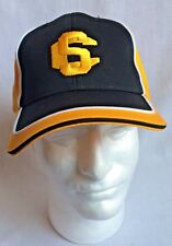 Mens Yellow & Black SC Embroidered Strapback Cap Hat New w/o Tags 100% Cotton