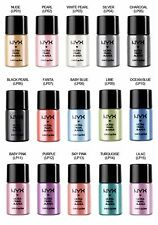 NYX Cosmetics Loose Pearl Eye Shadow, Silver.