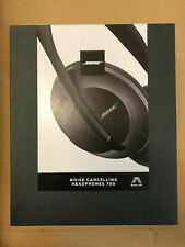 bose 700 noise Wireless cancelling headphones New Seal Box Black. Genuine .