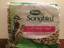 Scotts Songbird Selections Multi-Bird Snack with Fruits & Nuts (1.75 lbs.)