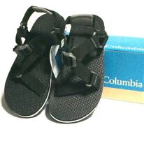 Columbia Red River Sport Sandal Womens SIze 7 Black/White Strap Water Beach