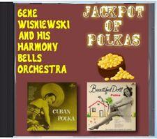 MZ 113 - Gene Wisniewski & His Harmony Bells - Jackpot Of Polkas - POLKA CD