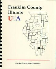 IL Franklin County Illinois history Aiken RP 1918 Settlers Townships New Reprint