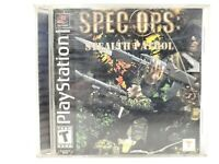 SPEC OPS STEALTH PATROL PLAYSTATION PS1 COMPLETE IN BOX W/ MANUAL