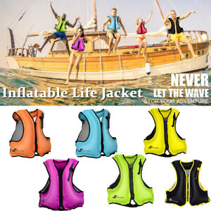 Snorkel Vests Adults Inflatable Life Jacket Lightweight Buoyancy Vest Portable