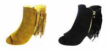 Zip Mid Heel (1.5-3 in.) Casual Textile Boots for Women