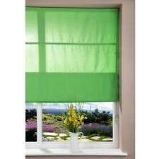 Stores vert en tissu pour la cuisine