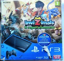PS3 SONY CONSOLE 500 GB PLAYSTATION 3 SLIM INVIZIMALS PACK COME NUOVA