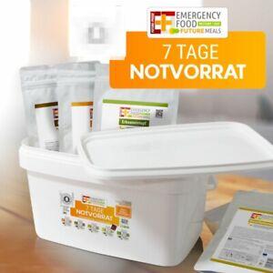 Notvorrat, EF Emergency Food - 7 Days BUCKET, Krisenvorsorge, Prepper, Nahrung