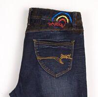 Desigual Femme The Amusant Jeans Coupe Slim Taille W30 L26 ATZ899