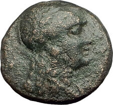 ANTIOCHOS III Megas 222BC RARE R1 Ancient Greek SELEUKID King Coin APOLLO i62605