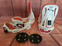 Womens snowboard bindings Salomon Celeste size M # London 858