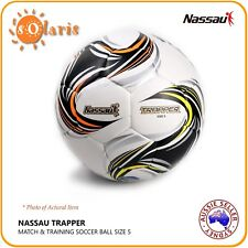 Nassau Tuji Trapper Size 5 Soccer Ball Kfa Approved Training Football Soft Touch
