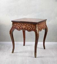 Spieltisch Barock Klapptisch Holztisch Beistelltisch Barocktisch Schachtisch