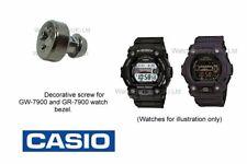 Casio GW-7900, GR-7900, GW7900, GR7900 Bezel Screw in GUN METAL Colour - Qty1