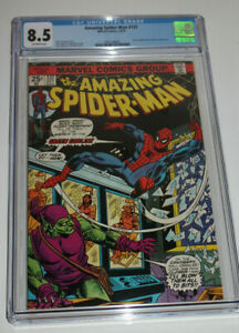 AMAZING SPIDER-MAN #137 1974 CGC 8.5 2nd GREEN GOBLIN II Rare Hard To Find Key