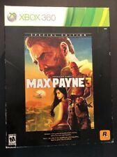 Max Payne 3 [ Special Edition ] (XBOX 360) NEW
