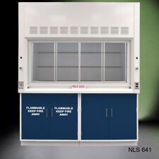 6 X 4 Fisher American Bench Fume Hood With Flammable Storage E2 725