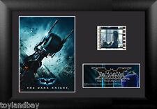 Film Cell Genuine 35mm Framed & Matted Batman Dark Knight Batcycle USFC5081