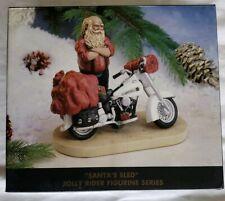 Harley davidson Santa's Sled Jolly Rider figurine Series