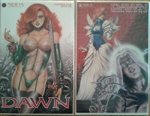 """Dawn"" Joseph Michael Linsner complete unread 1st print Sirius series w/ 1-shots"
