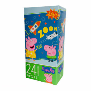 Peppa Pig Childrens Kids Indoor Activity 24 Piece Jigsaw Puzzle